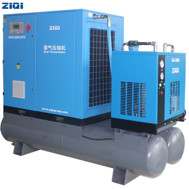 22kw Combined Screw Air Compressor
