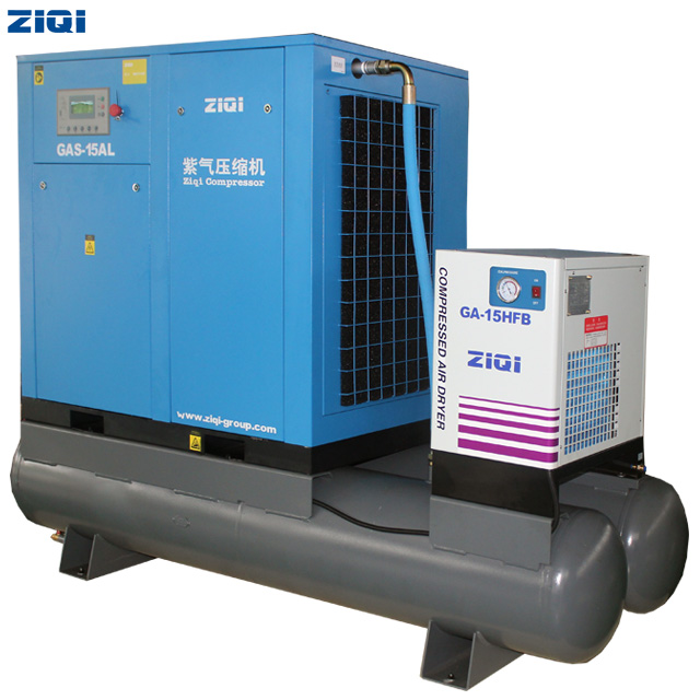 15kw Combined Screw Air Compressor