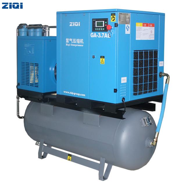 3.7kw Combined Screw Air Compressor