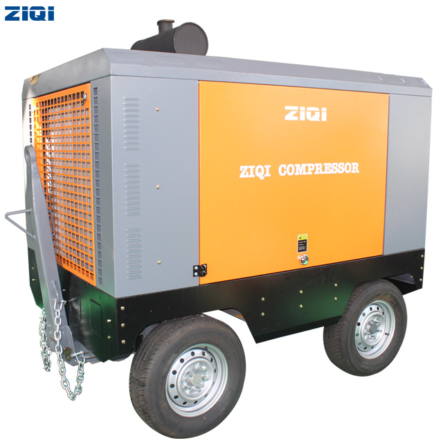 32~400kw Diesel Portable Screw Air Compressor